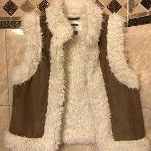 Old Navy Fur Vest